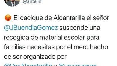 Photo of Vox arremete contra el PP por la suspensión de la recogida de material escolar en el jardín de las Palomas