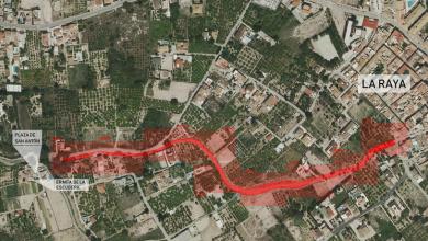 Photo of Crearán una senda verde de 700 metros junto a la acequia Puxmarina en La Raya