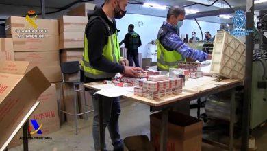 Photo of 18.000 cigarrillos por minuto. Desmantelada una fábrica ilegal de tabaco en Blanca que formaba parte de una red