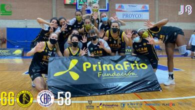 Photo of Quinta victoria de la temporada del UCAM Primafrio Jairis ante Pacisa Alcobendas (66-58)