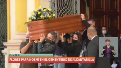 Photo of Noemí descansa en paz tras su entierro con misa en la iglesia de Campoamor