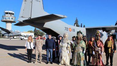 Photo of Los Reyes Magos llegan a Alcantarilla este martes en avión y recorrerán todos los barrios en descapotables