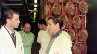 Photo of Que quede entre nos. La Juani, de 'Médico de Familia', entre jamones