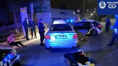 Photo of Un conductor ebrio y drogado es detenido tras una persecución por la avenida de Alcantarilla