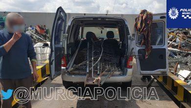 Photo of Sorprenden a tres personas vendiendo en una chatarrería el hierro robado en una obra de Nonduermas