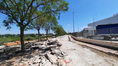 Photo of Comienza la renovación de la calle Francisco Teruel Sáez, dañada por la DANA de 2019