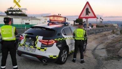 Photo of La Guardia Civil sorprende a un conductor cuando circulaba a 190 kilómetros por hora en un coche de lujo
