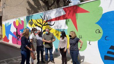 Photo of El colegio Nuestra Señora de la Encarnación de La Raya estrena grafiti educativo