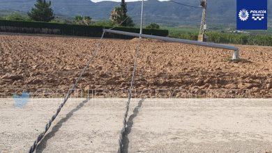 Photo of La tormenta derriba tres postes eléctricos de alta tensión en Sangonera la Seca
