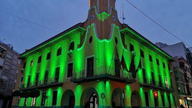 Photo of Luces verdes en apoyo a los familiares y a los afectados por la ELA