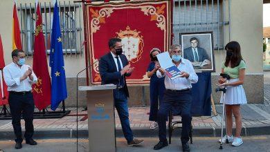 Photo of Homenaje a Zapata, primer alcalde elegido democráticamente, al que Alcantarilla dedica una calle