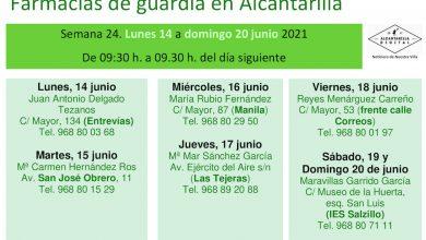 Photo of Farmacias de guardia en Alcantarilla del 14 al 20 de junio