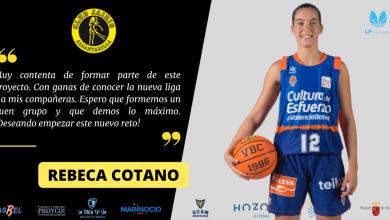 Photo of Rebeca Cotano, un refuerzo de lujo para Hozono Global Jairis de LF Challenge