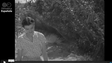 Photo of 'En los jardines de Murcia' (1936), rodada en Alcantarilla, ya se puede ver completa y restaurada en Internet