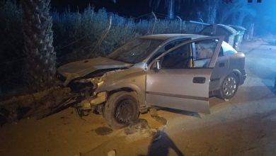 Photo of Herido un conductor que cuadruplicaba la tasa de alcohol al chocar contra una valla en Sangonera