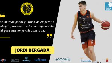 Photo of Jordi Bergadà, nuevo 'combo-guard' del Hozono Global Jairis de liga EBA
