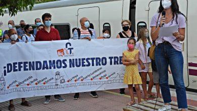Photo of Concentración de protesta contra el cierre de la línea de Cercanías este jueves en el apeadero de los Romanos
