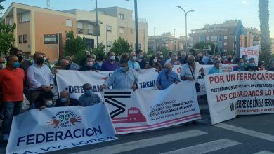 Photo of Unanimidad política en la protesta de rechazo al cierre de la línea de tren de Cercanías
