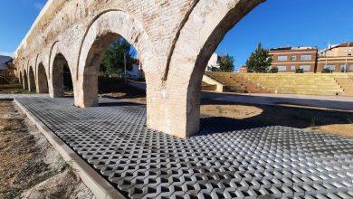 Photo of Las obras del Parque del Acueducto entran en la fase final para hacerlo visitable