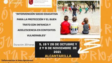 Photo of Alcantarilla acoge un curso sobre protección de la infancia y adolescencia en situación vulnerable