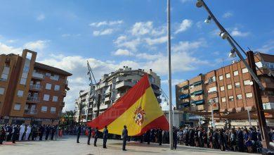 Photo of 120 civiles juran bandera en el acto de homenaje en Alcantarilla